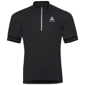 Odlo Breeze Stand-Up Collar SS 1/2 Zip Shirt Men black